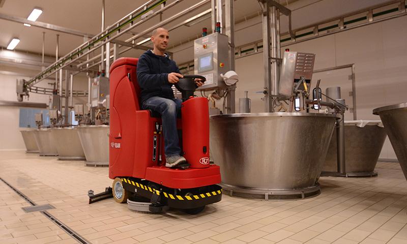 Autolaveuse industrie Tunisie