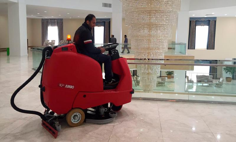 Autolaveuse Jumbo administration Tunisie